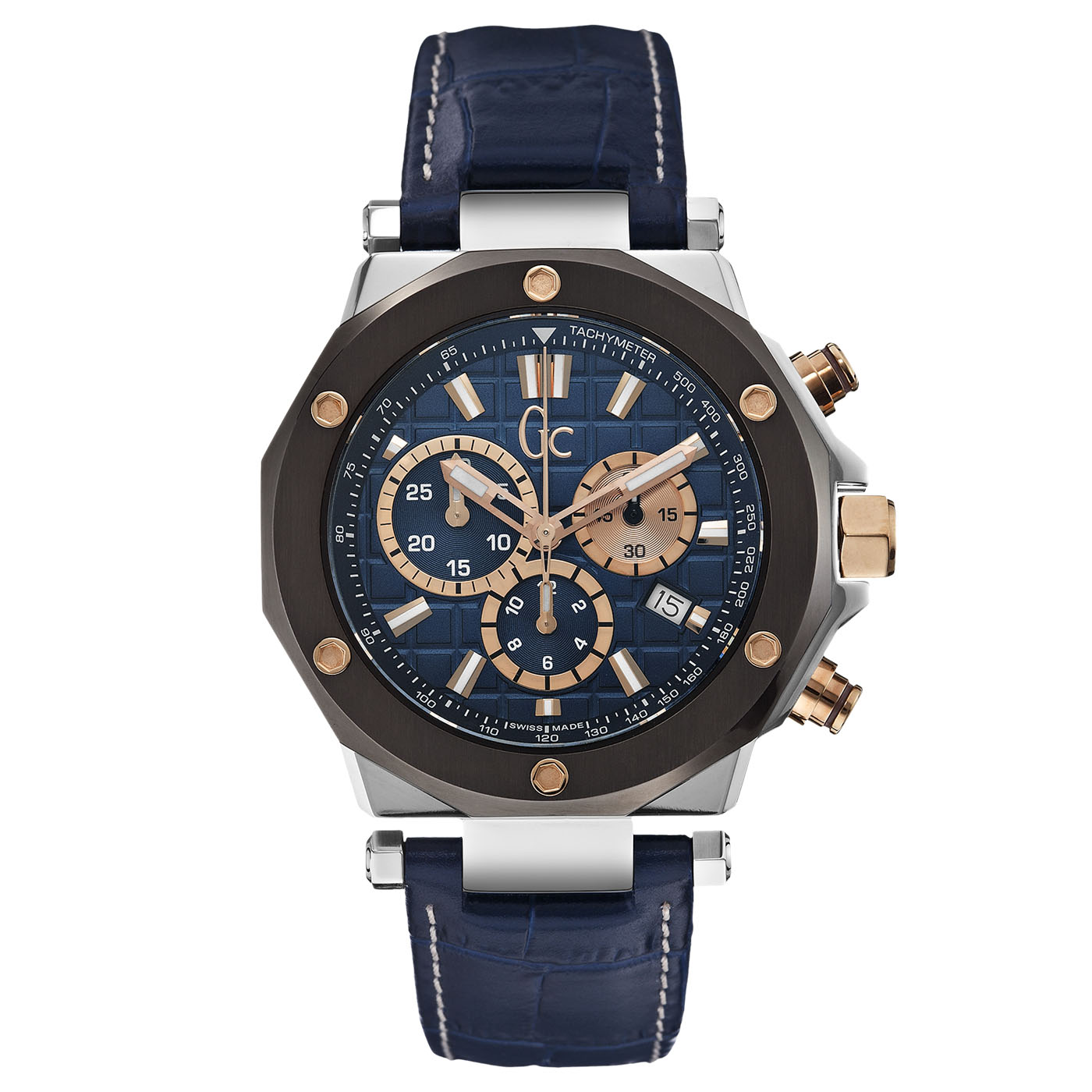Reloj Gc -3 Sport Chic Collection Acero Esfera Azul 58b8bf30b880