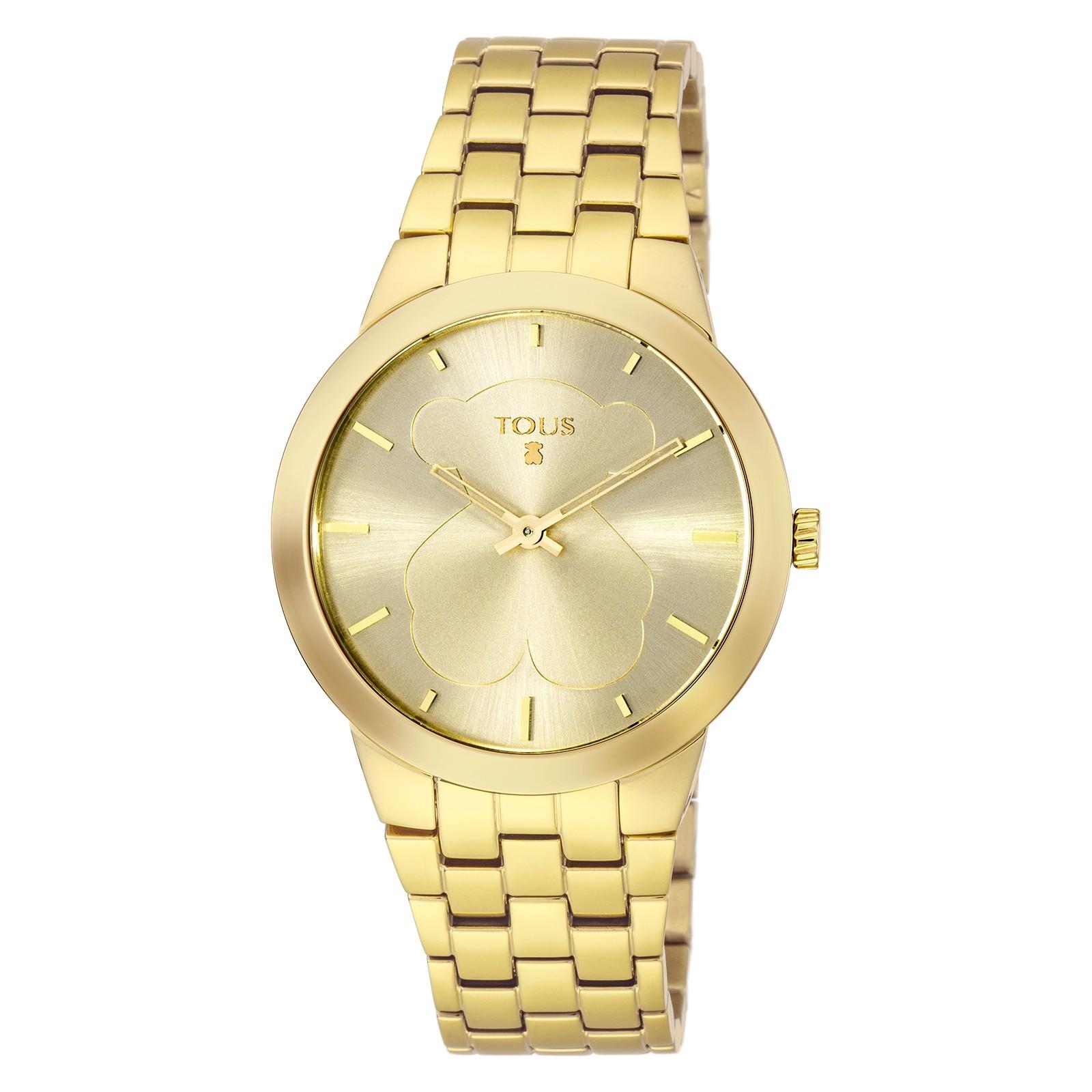 ecfa23325f31 Reloj TOUS B-Face dorado de acero